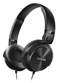 Philips Shl3060 Headphones - Black